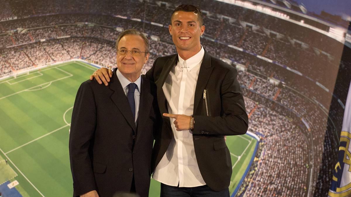 Florenzo Perez says Cristiano Ronaldo is Di Stefano's Heir