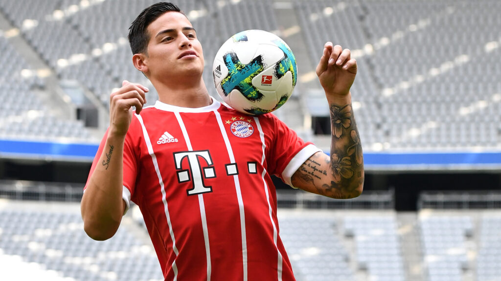 James Rodriguez Shruds Off Ronaldo Comments and Real Madrid Return Talk