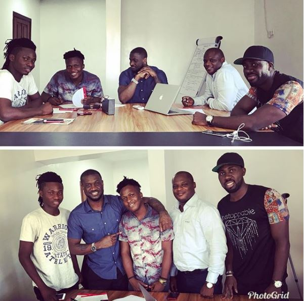 Peter Okoye signs to act to P Classic Records