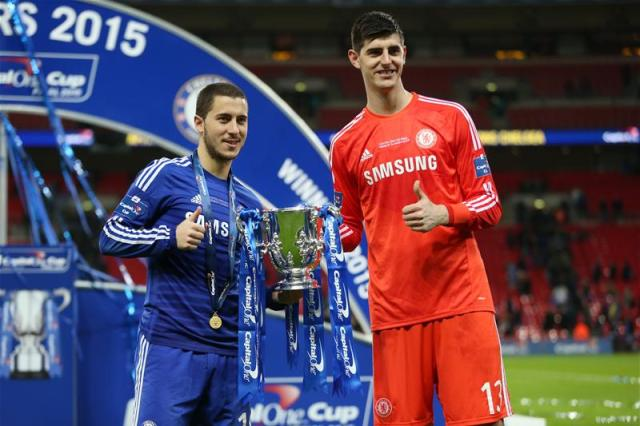 Hazard to Renew Chelsea Contract after Courtois