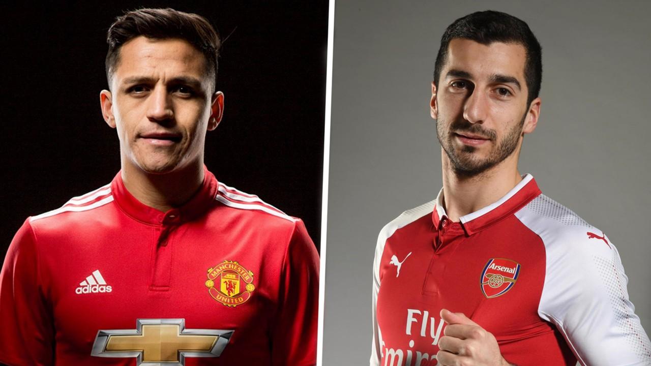 OFFICIAL: Man Utd Sign Sanchez as Mkhitaryan Joins Arsenal