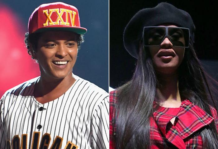 """If you ever need a kidney, I got you"" – Cardi B Tells Bruno Mars"