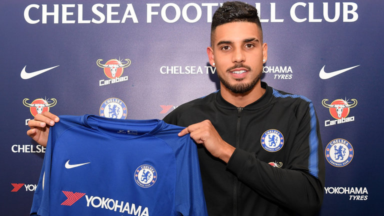 Chelsea Confirm £17.5m Emerson Palmieri Signing From Roma