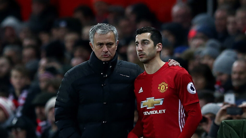 Mourinho Hints At Mkhitaryan Exit AMid Arsenal Rumours