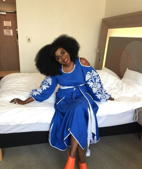 TY Bello Is All Over The Moon As She Celebrates her 40th Birthday