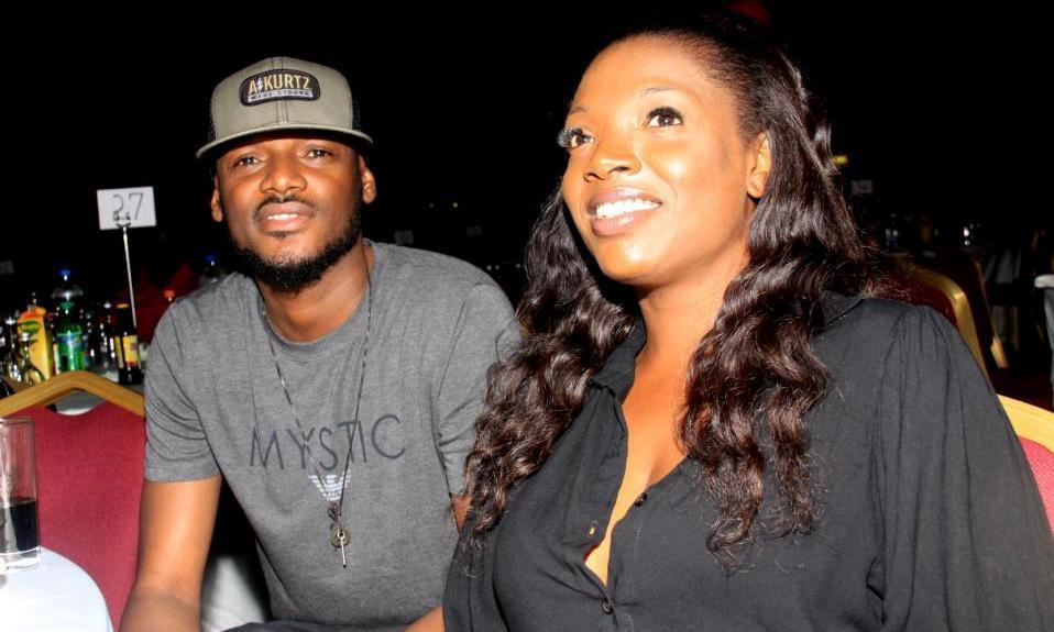 Annie Idibia Celebrates Husband, Tuface on Valentine's Day