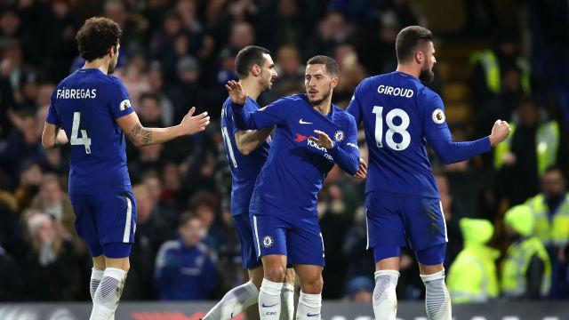 Hazard Inspires Chelsea Victory Over West Brom