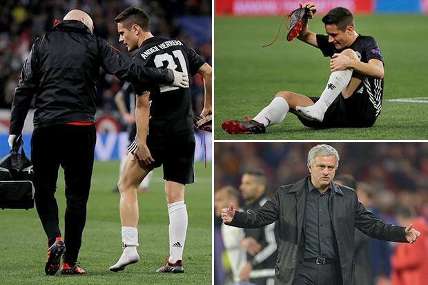 Mourinho Blasts Man Utd Medical Department Over Herrera's Injury