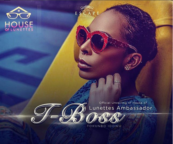TBoss Unveiled As House Of Lunettes Brand Ambassador