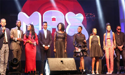 from (left – right): CEO TVC Communications, Andrew Hanlon, Wake Up Nigeria hosts, Yomi Owope & Titi Onyinsan, Max FM OAPs, Mark Otabor, Mary Bashua Alim, Olayemi Ogunwole, Debola Ajiboye, Shine Begho & Murphy Ijemba. Read more at: https://www.vanguardngr.com/2017/10/tvc-communications-launches-new-lagos-radio-station-102-3-max-fm/