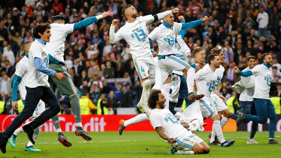 Real Madrid See Off Bayern To Reach 3rd Consecutive CL Final