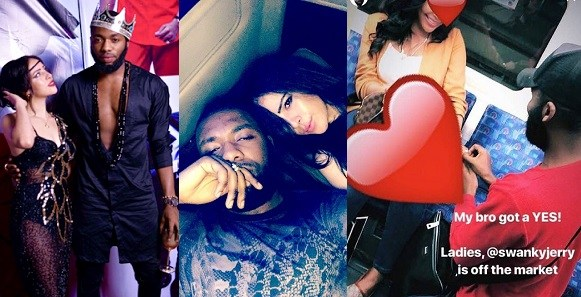 Celebrity Stylist, Swanky Jerry Is Believed To Be Engaged