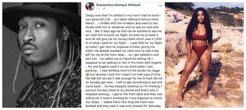 Instagram Model Calls Out Future For Leaving Her Stranded