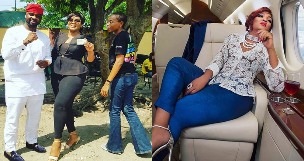 I have never voted before in the country's election.- Omotola