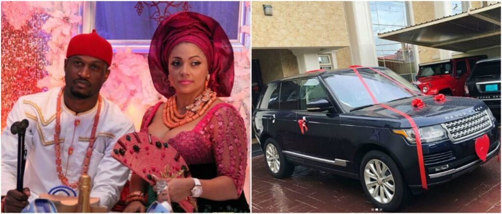 Peter Okoye Surprises Wife With A Range Rover SUV
