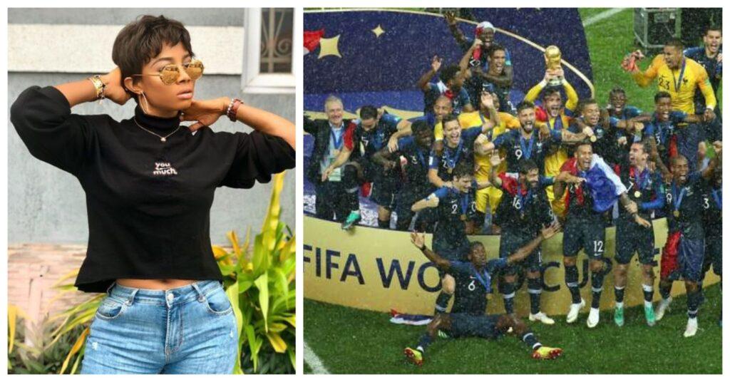Toke Makinwa Celebrates As She Bags 7.2 Million Naira