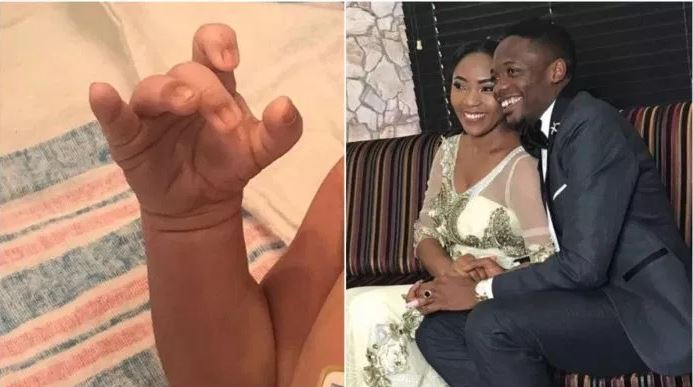 Ahmed Musa Announces The Arrival Of Baby Boy With His Wife