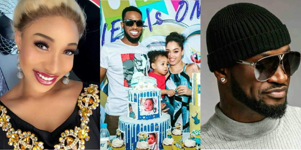 Social Media Users Slam Peter Okoye And Tonto Dikeh Over Comment