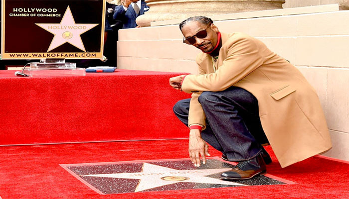 Snoop Dogg gets a star on Hollywood Walk of Fame