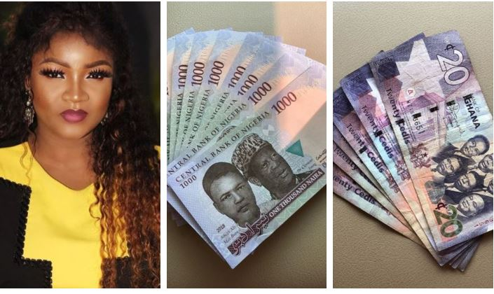 Omotola Jalade Cries Out Over Worthlessness Of Naira To Ghana Cedis