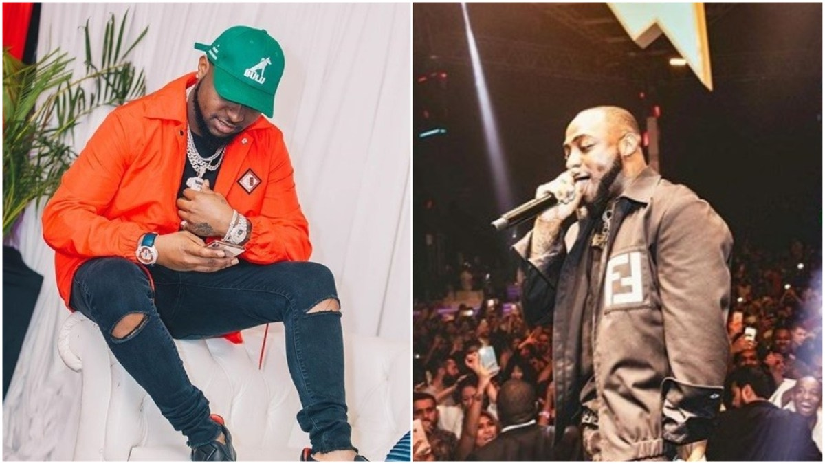 Davido rewards boy with N1m for protecting girls at his concert