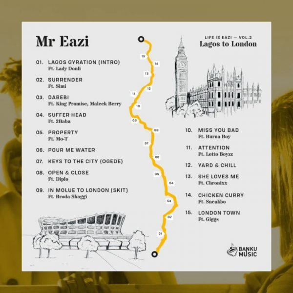 "Mr Eazi - ""Surrender"" ft. Simi"