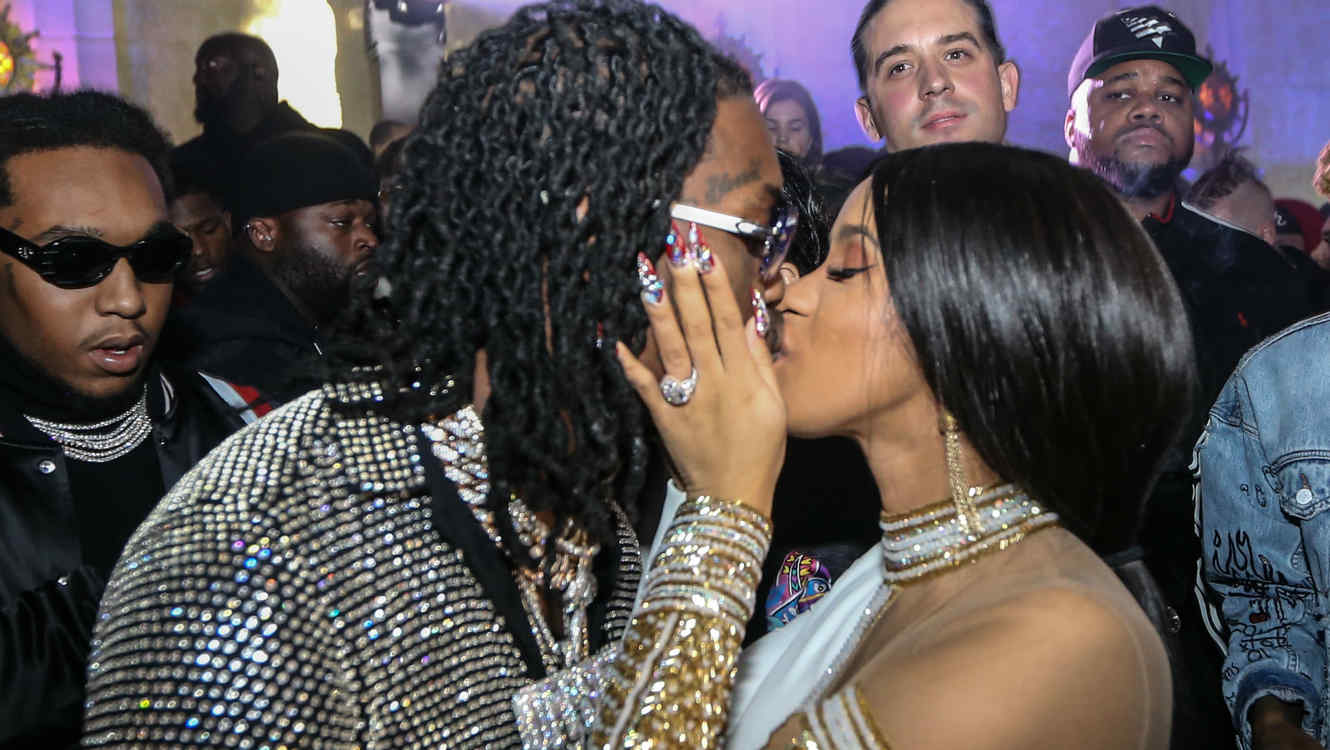 Cardi B Says Offset Has Picked Their Baby S Name: Cardi B And Offset Are Reportedly Back Together!