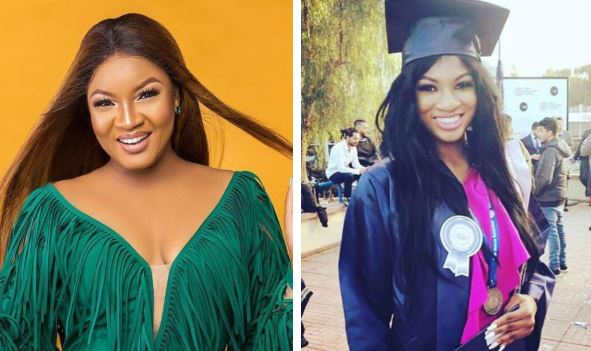 Omotola Jalade's first daughter Princess graduates from Cyprus University