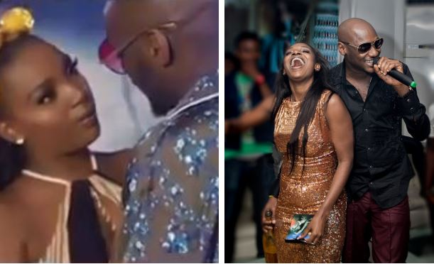 See 2Face's Hot Reply To A Lady Who Called His Wife Annie Idibia 'Old'