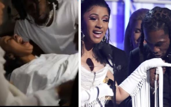Offset Shares Video Of Cardi B In The Delivery Room