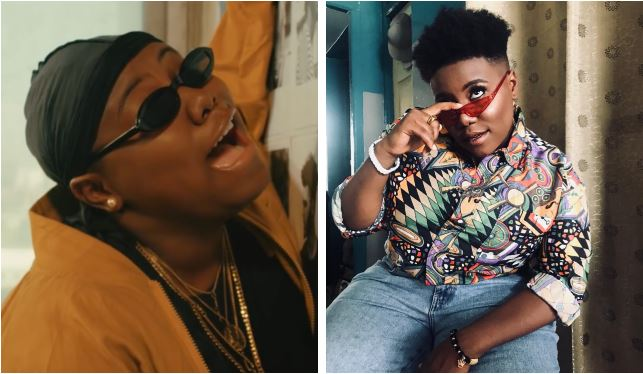 Teni Entertainer bursts into tears during stage performance (Video)