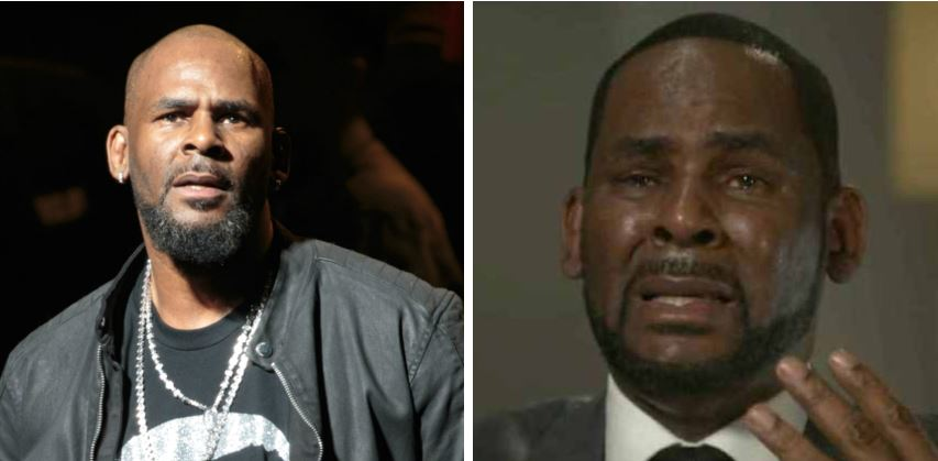 'This isn't me, I didn't do it!' – R. Kelly breaks down in tears as he denies sexual abuse charges (Video)