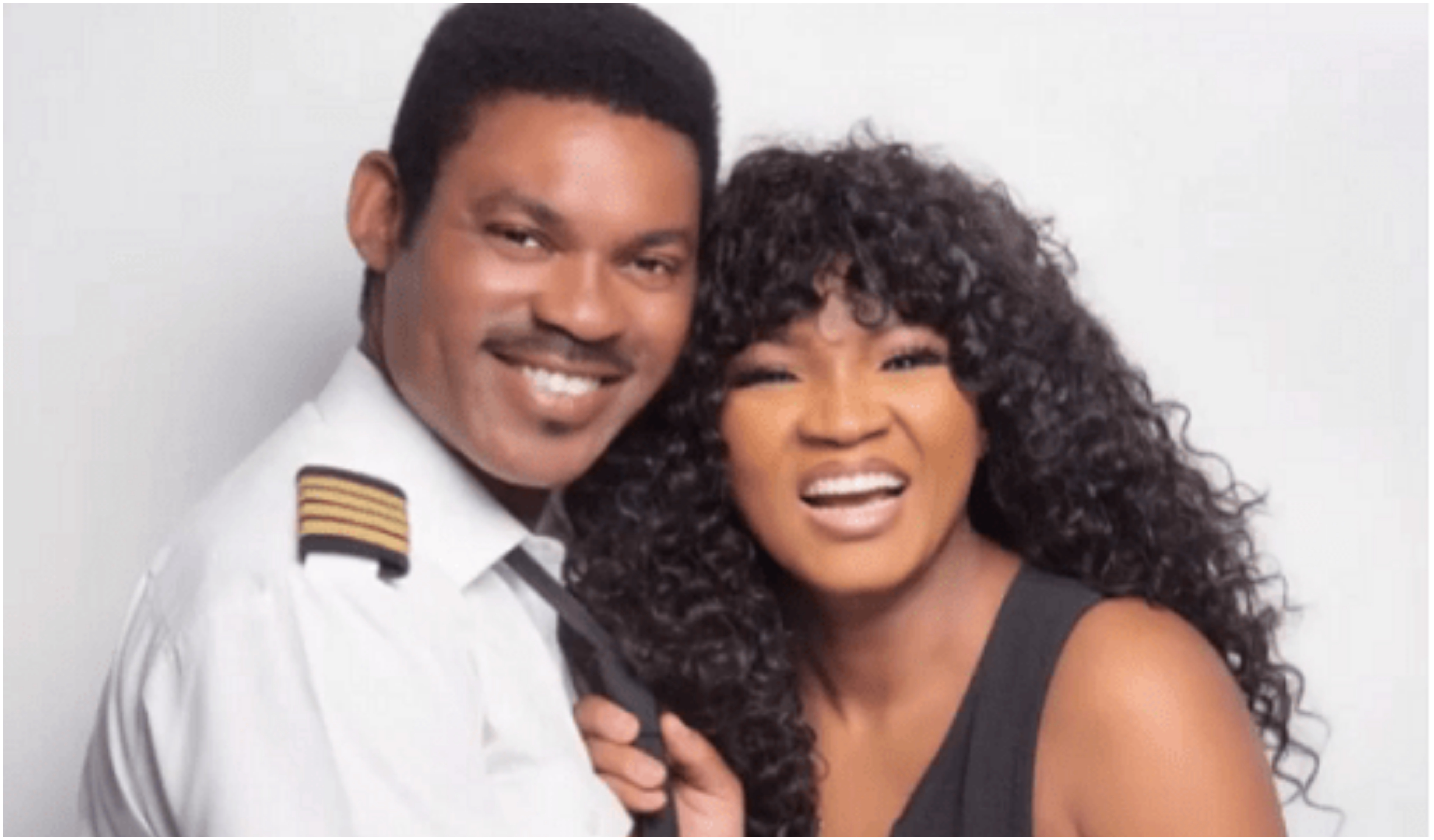 Omotola Jalade-Ekeinde Celebrates 23rd Anniversary With Husband