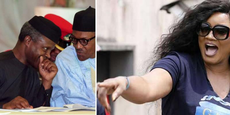 Nigeria Is Hell Under Your Watch, Omotola Tells Buhari, Osinbajo