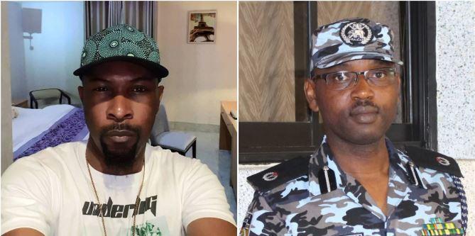 Assistant commissioner of police Yomi Sogunle blocks Ruggedman over tweet on SARS who killed innocent man
