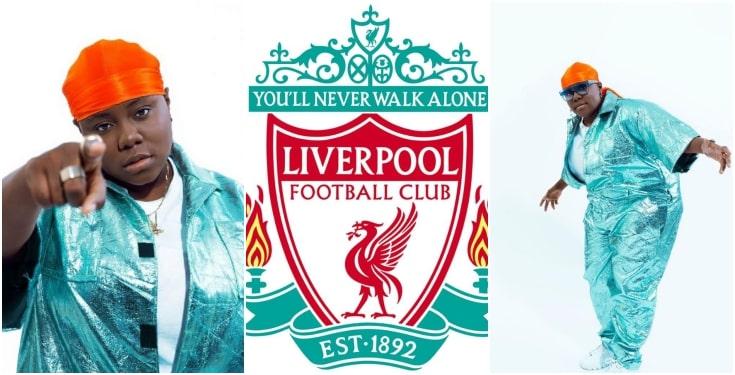 Celebrities react as Teni predicted Liverpool's 4-0 win