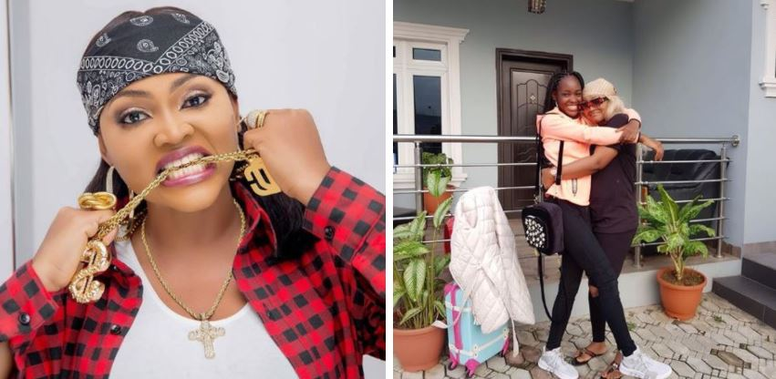 Mercy Aigbe threatens to sue blogger who spread lies about her daughter