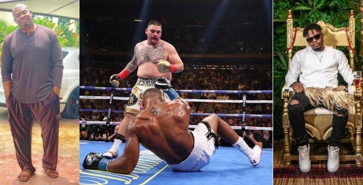Nigerian Celebrities React To Anthony Joshua's Defeat By Andy Ruiz