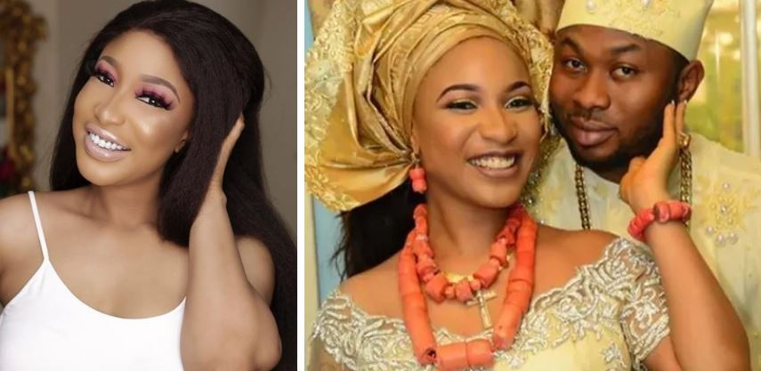 Tonto Dikeh reveals what she did to her estranged husband, Churchill after he beat her up