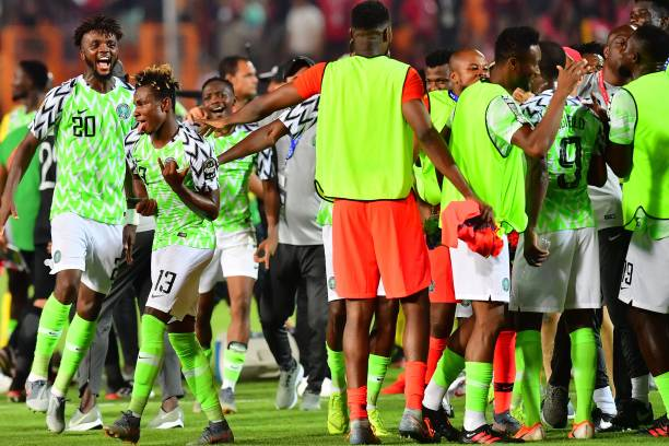 Super Eagles battle to 2-1 win over Bafana Bafana in quarterfinals of AFCON 2019