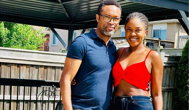 See Omoni Oboli And Husband Dancing Video