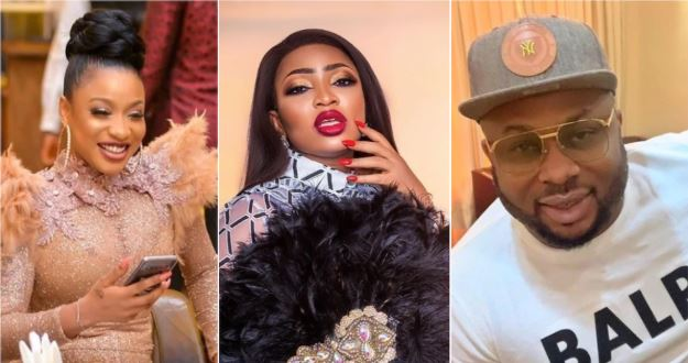 Tonto Dikeh's ex-friend Blessing Osom thanks her ex-husband Churchill over N3m birthday gift