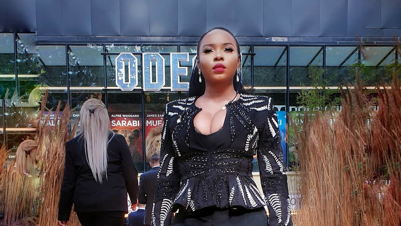 See Yemi Alade Attend 'Lion King' Movie Premiere With Beyonce
