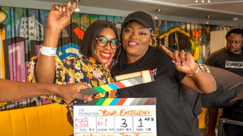 Funke Akindele Makes Her Debut As A Director In Mo Abudu's 'Your Excellency'