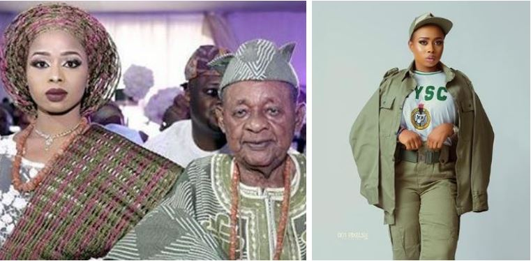 Alaafin of Oyo's last wife Olori Badirat shares photos as she starts NYSC