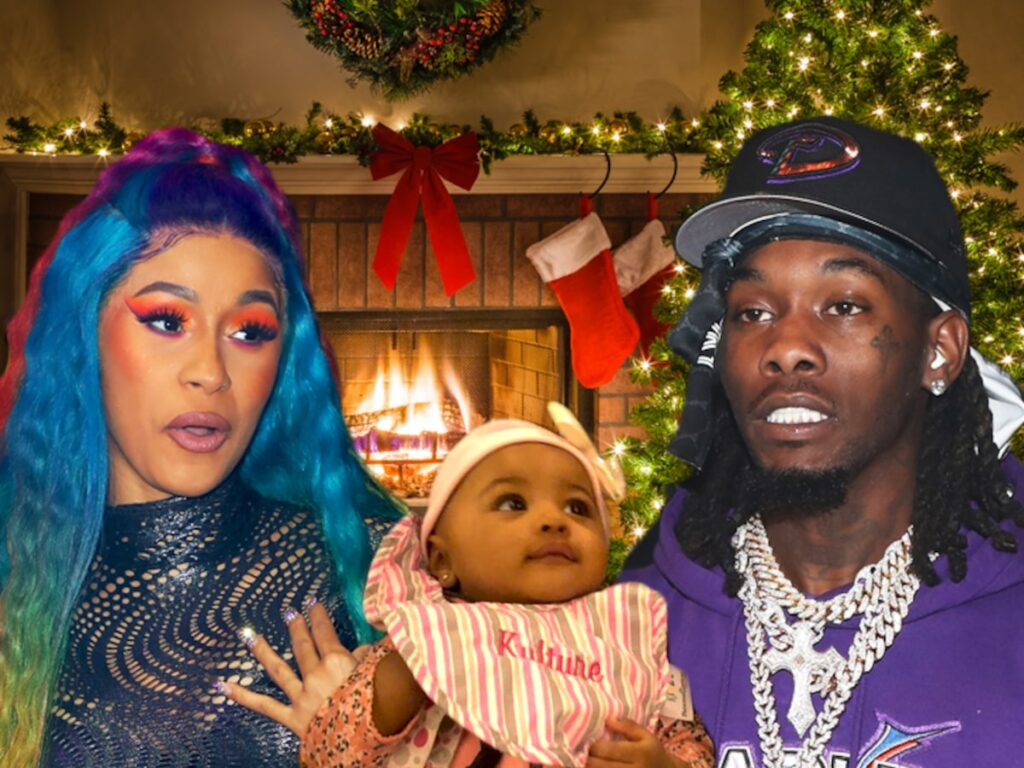 Cardi B Shares Cute Video Of Offset Styling Their Daughter's Hair
