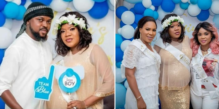 See Photos Of Toke Makinwa, Iyabo Ojo And Others At Toyin Abraham's Surprise Baby Shower