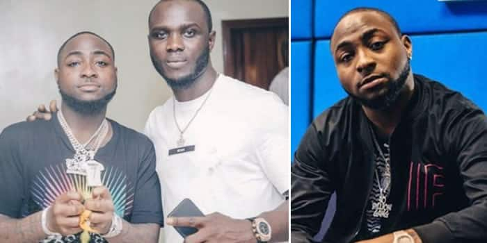 Davido Allegedly Sends His Crew Member Out Of His House (Video)