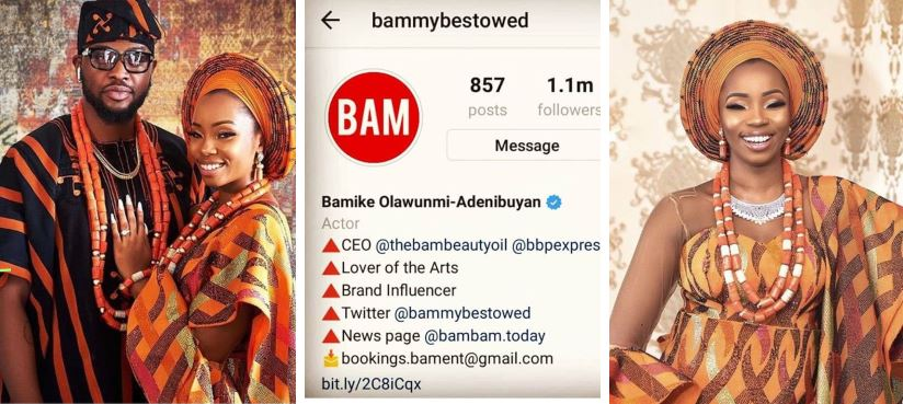 Bam Bam edits her Instagram profile to include Teddy A's surname