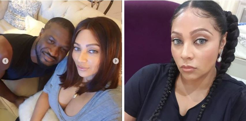 """""""I'm a rich MAN because i have a WIFE with a rich HEART"""" - Peter Okoye says as he celebrates his wife Lola on her birthday"""
